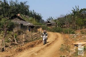 Moc Chau - voyage moto groupe Vietnam