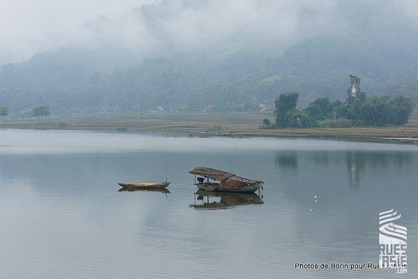 Le lac de BA Be lors de mon séjour au Vietnam