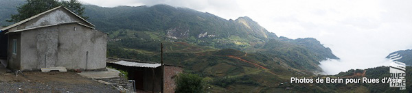 Les montagnes du Nord Vietnam