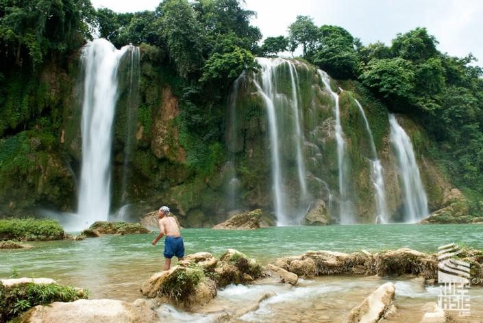 Chutes de Ban Gioc, voyage à moto à Ha Giang et les provinces du nord-est Vietnam