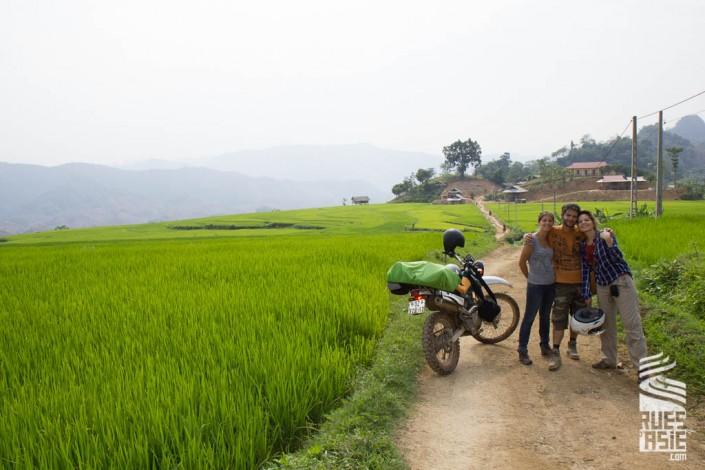 Voyage à moto au Vietnam de Ngoc Son à Nghia Lo hors des sentiers battus
