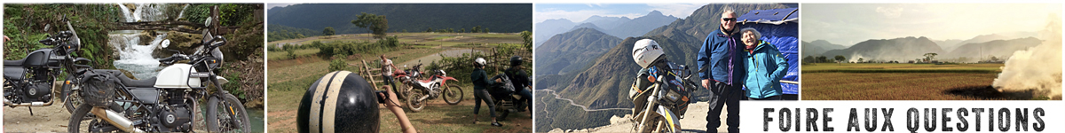 Toutes vos questions sur comment voyager au Vietnam à moto