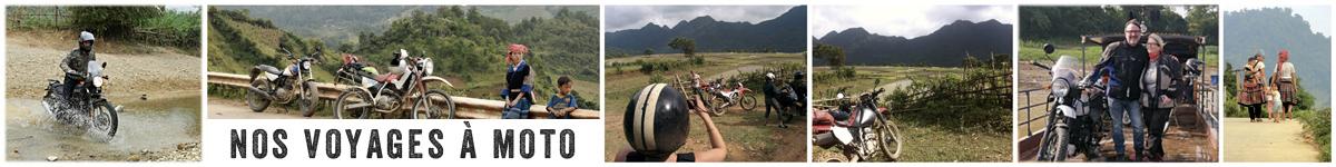 les voyages à moto au Vietnam de Crossroadsvietnam
