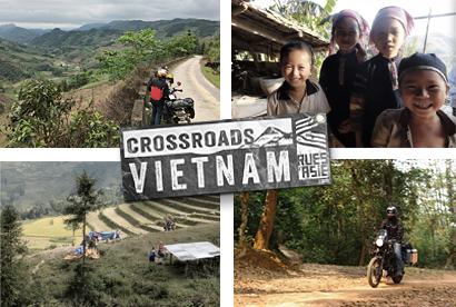 Voyages à moto au Vietnam par CrossroadsVietnam
